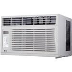 LG LW6016R 6,000 BTU 115V Window-Mounted Air Conditioner with Remote Control 2302718