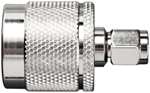 Wilson Electronics 971132 SMA Male to N Male Connector